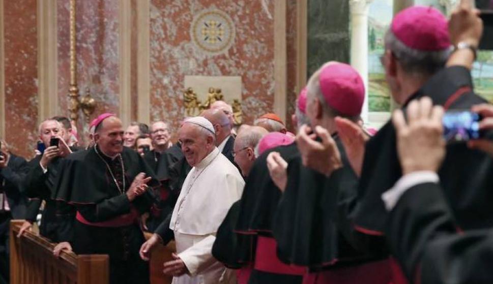 El Papa recibió a jerarcas católicos estadounidenses para hablar sobre abusos