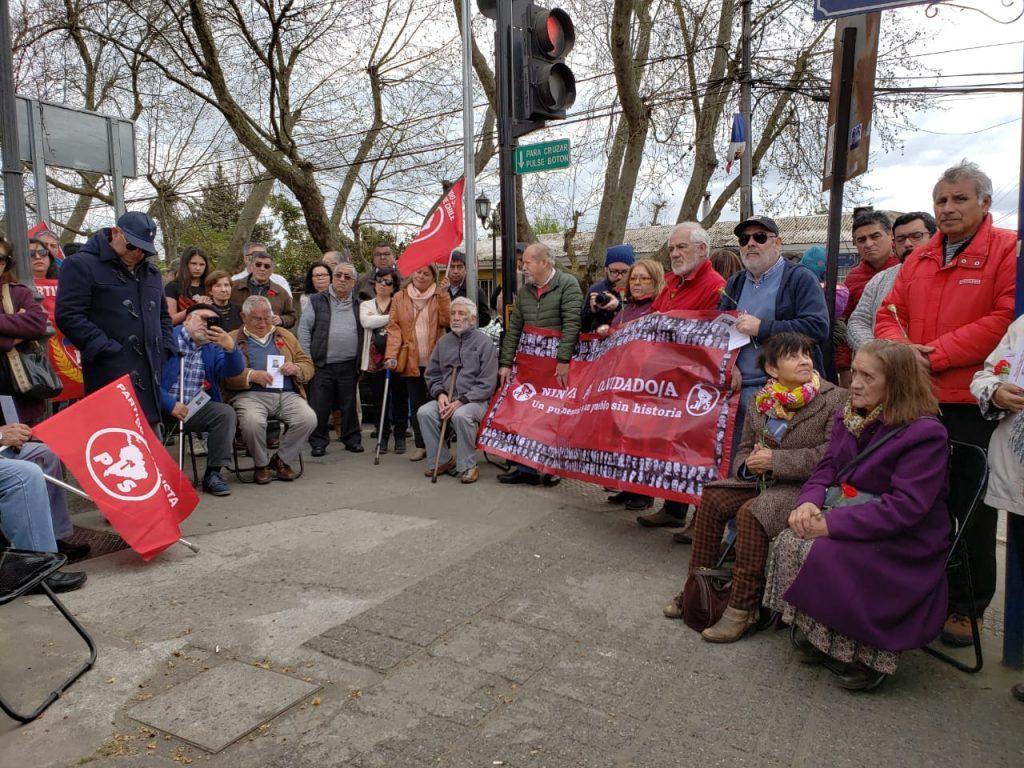 Con emotivo acto recuerdan a alcalde de Chillán y su familia, todos ejecutados por la Dictadura