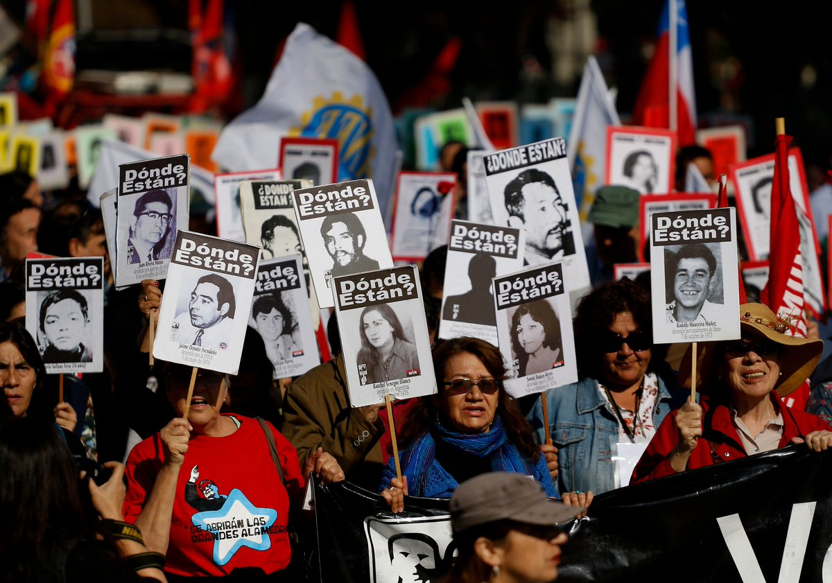 Multitudinaria romería recuerda a los detenidos desaparecidos a 45 años del golpe de Estado