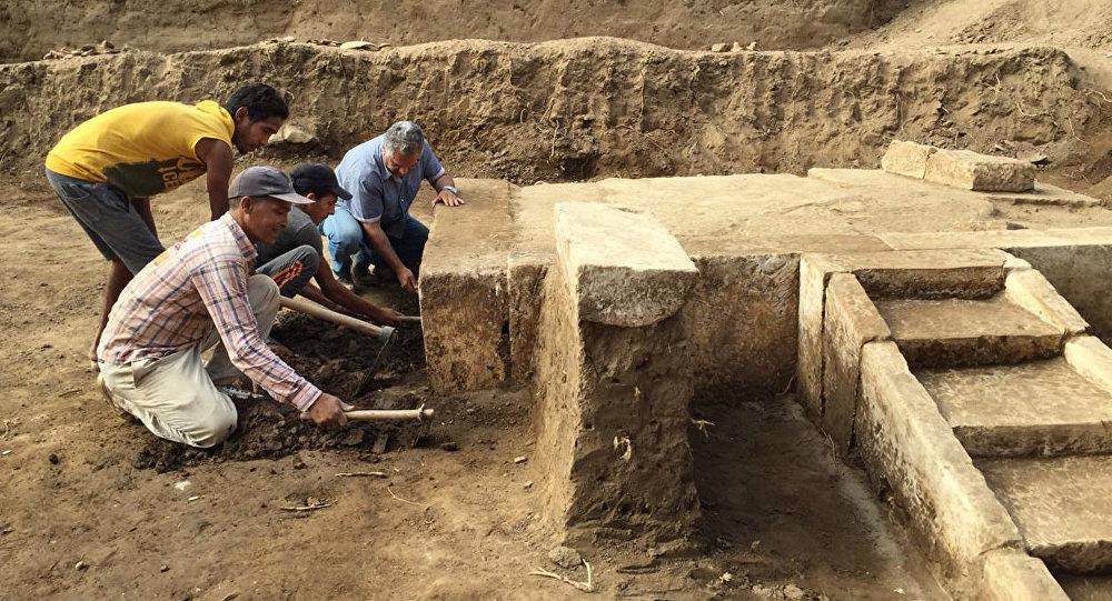 Hallan la sala ceremonial del faraón que gobernó Egipto hace 3.000 años