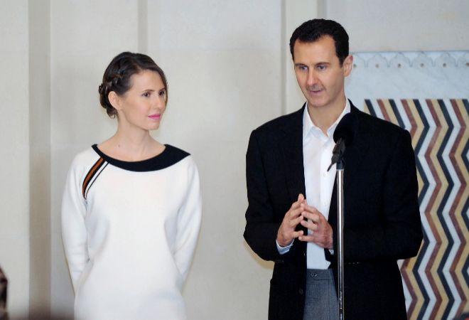 (Video) La primera dama de Siria aparece en público tras iniciar su tratamiento para el cáncer