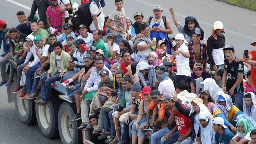 Caravana de migrantes mantiene el optimismo para llegar a EE. UU.