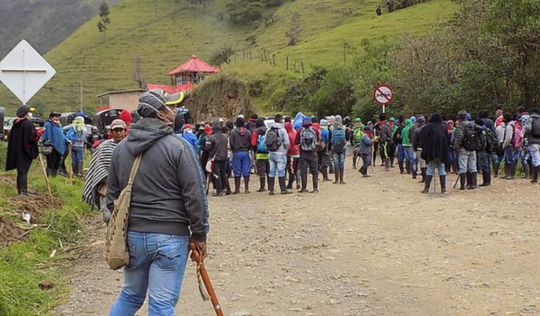 Defensoría del pueblo  mediará entre los Nasa y los Misak en Colombia