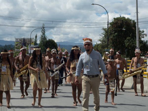 Banda musical de Carurú suena con el sabor de 17 etnias indígenas