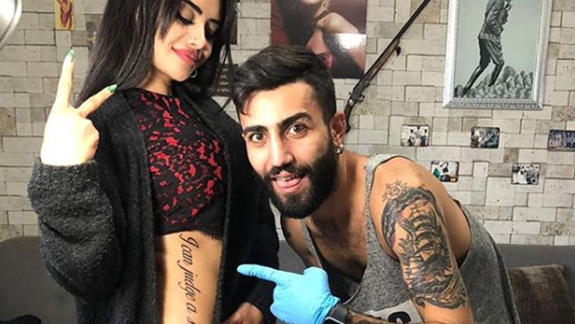 A estrella de televisión le hacen bullying por hacerse un tatuaje con mala traducción