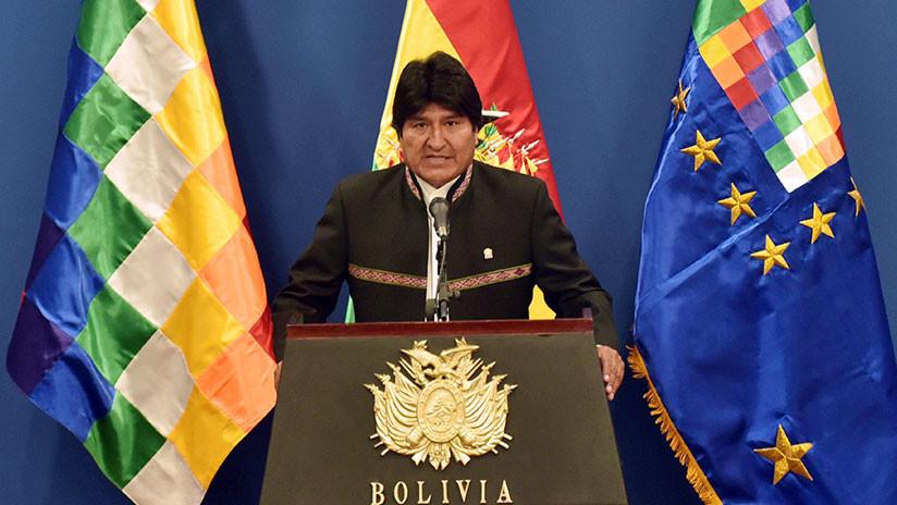 """Evo Morales: """"Los golpes de la región son congresales y judiciales"""""""