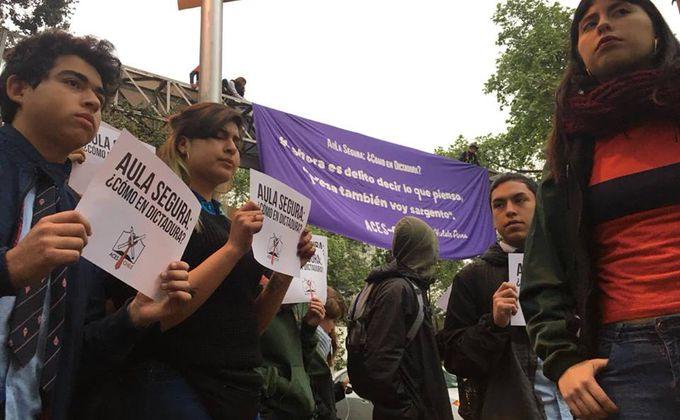 ACES apunta al proyecto Aula Segura: «Busca coartar y reprimir al movimiento estudiantil»