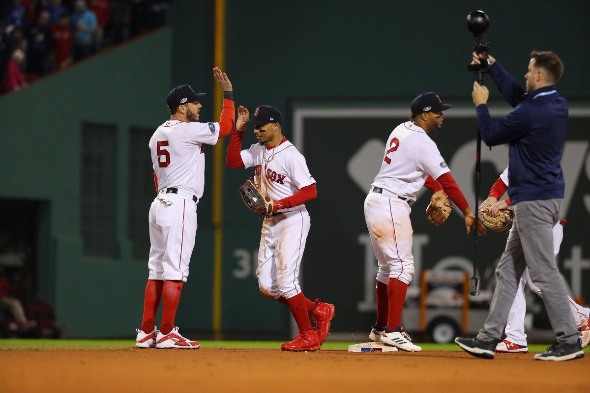 Medias Rojas de Boston igualan la Serie de la Liga Americana