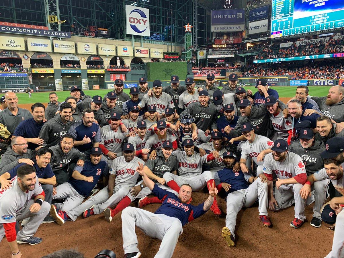 Medias Rojas de Boston son los primeros clasificados a la Serie Mundial de Estados Unidos