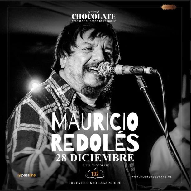 Mauricio Redolés gana su primer Premio Literario en la categoría «Escrituras De La Memoria» por su libro «Algo Nuevo Anterior» y lo celebrará el 28 de diciembre en Club Chocolate