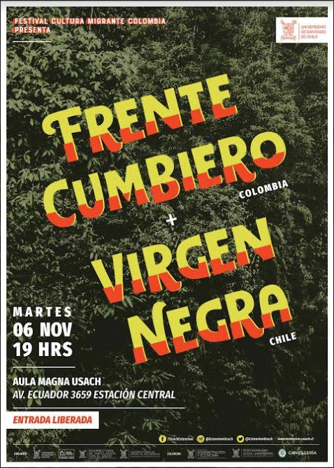 Llega la segunda versión del Festival Cultura Migrante Usach dedicado a Colombia