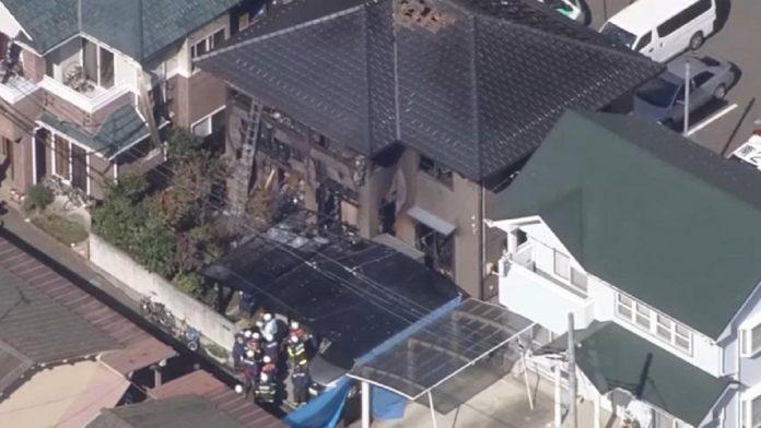 Mueren seis personas en un incendio en una casa de madera en Japón