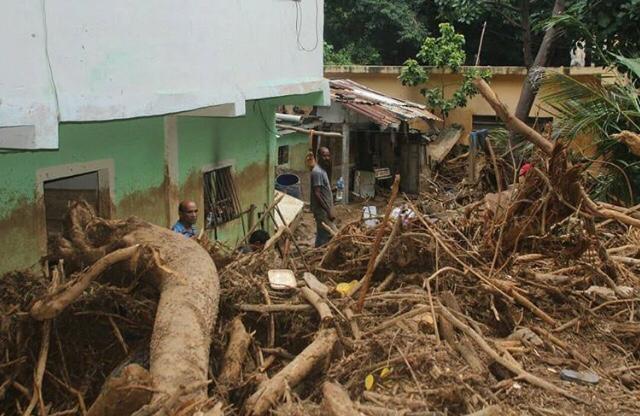 Fuertes lluvias generan daños materiales y pérdidas humanas en La Guaira