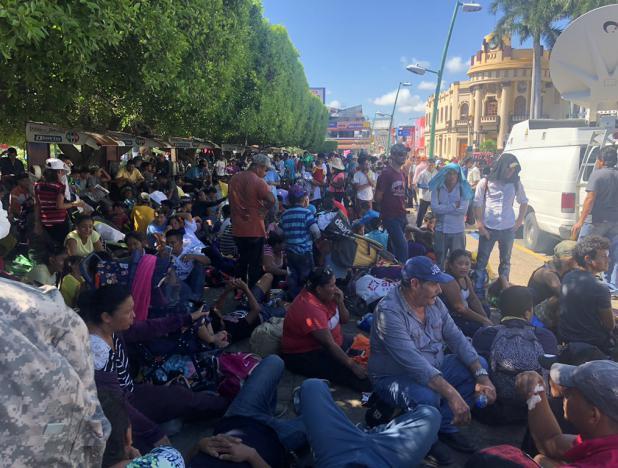 """""""Los migrantes centroamericanos son refugiados económicos"""", dijo analista internacional Arturo Gallegos García"""