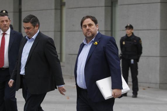 Fiscalía pedirá para Junqueras y miembros del exGovern las penas más altas por el referendum independentista de Cataluña