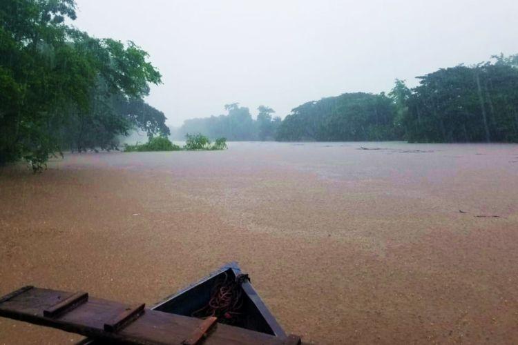 Nicaragua en alerta roja por las fuertes inundaciones