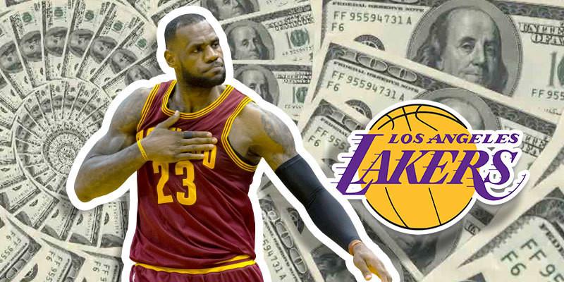 LeBron James es reconocido por su mentalidad para hacer dinero