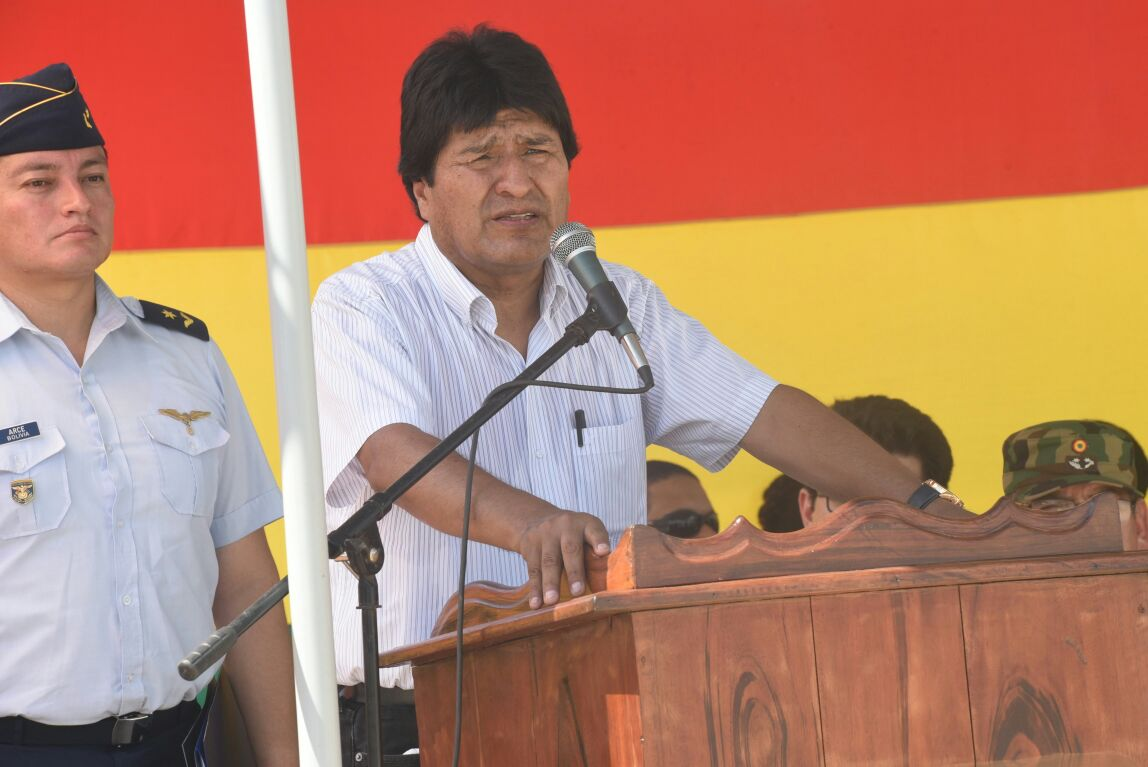 """""""Bolivia respeta pero no comparte el fallo de la Corte Internacional de Justicia"""" dijo Evo Morales"""