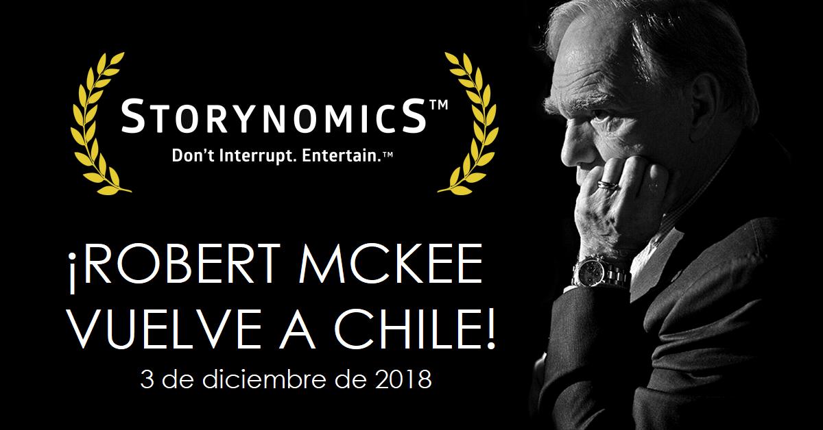 """La leyenda Robert McKee vuelve a Chile con nuevo seminario """"Storynomics"""""""