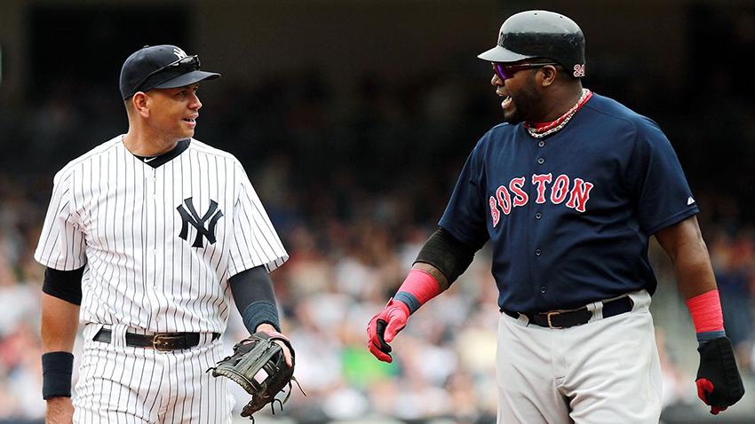 A-Rod y David Ortiz apuestan quién ganará la Serie entre Yankees y Boston