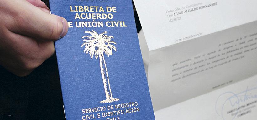 Acuerdo de Unión Civil: Más de 21 mil parejas nuevas en tres años