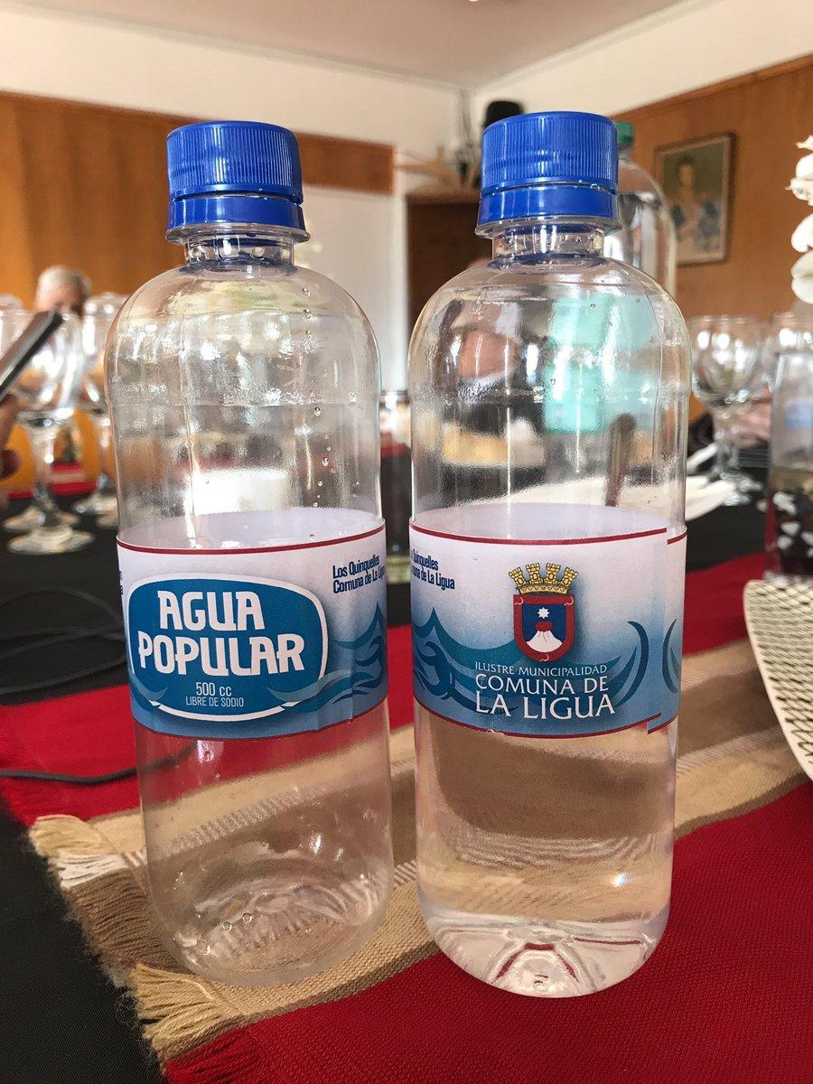 La Ligua presenta su nueva «agua popular»: Irá en auxilio de zonas afectadas por la sequía
