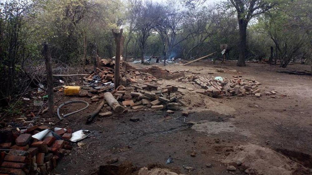 Quemaron a un campesino durante un violento desalojo de tierras en Argentina