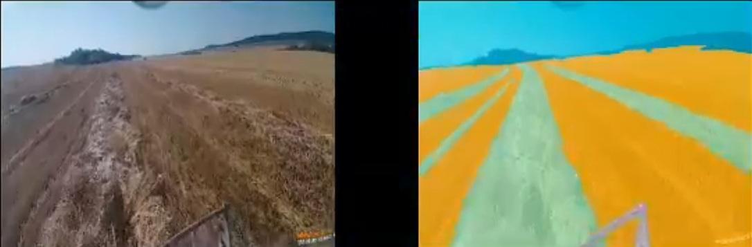 """(Vídeo) Ponen a prueba cosechadora """"totalmente autónoma"""""""