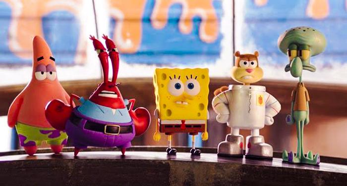 """""""Bob Esponja 3"""" llegará a las salas de cine en junio de 2020"""