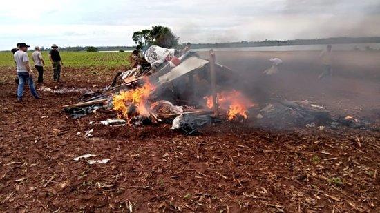 (Video) Dos campesinos heridos tras violento cruce con colonos brasileños