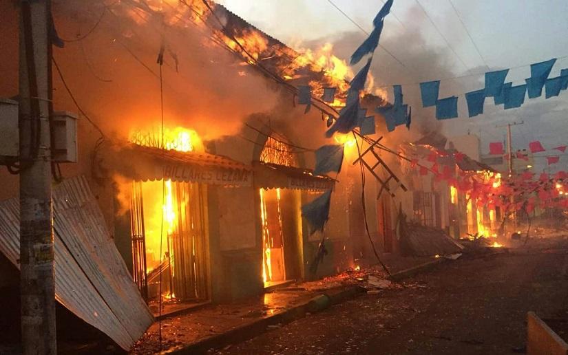 """Estiman en $ 1.180 millones lo daños causados por """"terrorismo golpista"""" en Nicaragua"""