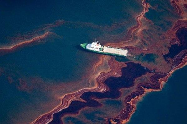 Alerta: Temen que derrame petrolero en los EE.UU. pueda convertirse en uno de los peores