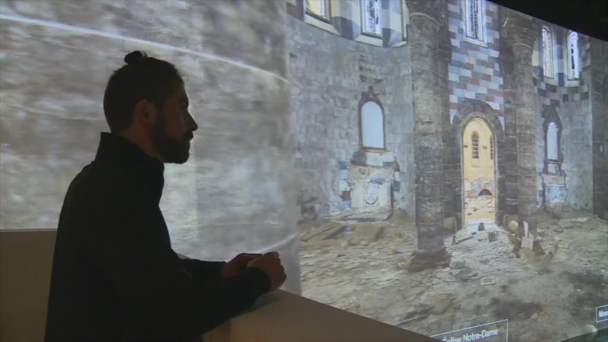 Exposición digital en 3D reconstruye ciudades  árabes destruidas por la guerra