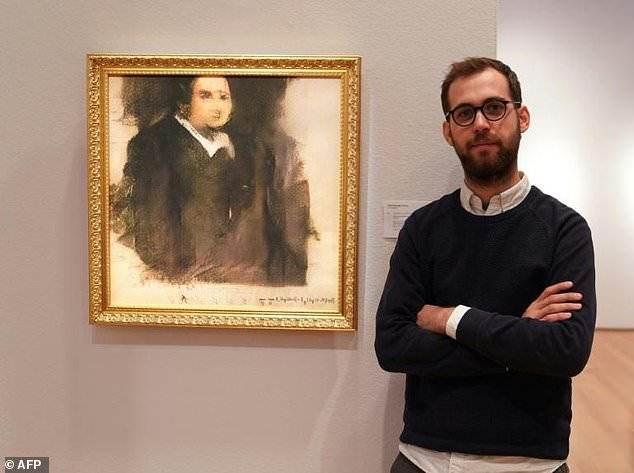 Retrato pintado por una inteligencia artificial se subasta en 433.500 dólares