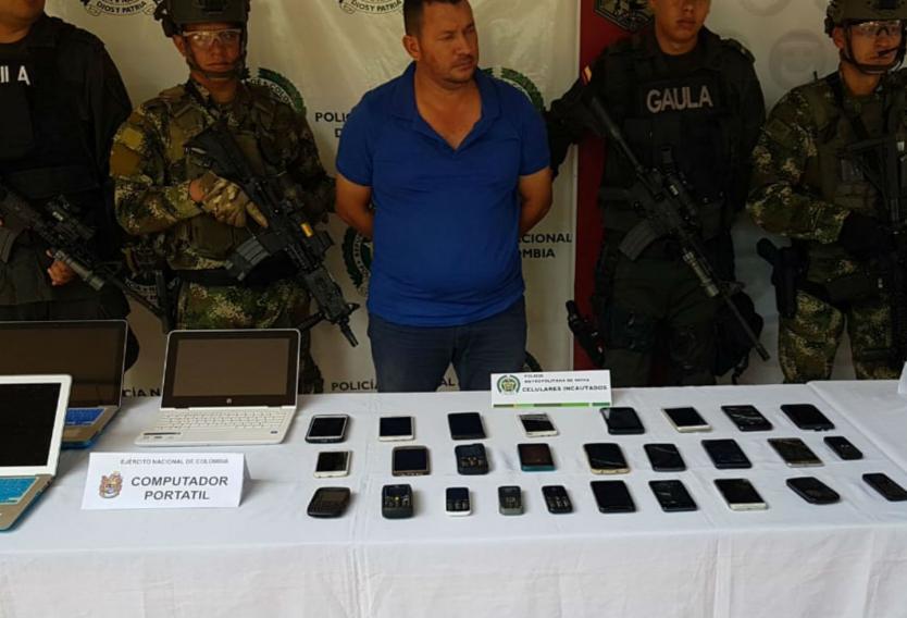 Capturan líder disidente de las FARC al sur de Colombia