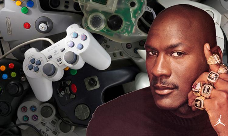 Michael Jordan invierte en el suculento negocio de los deportes electrónicos