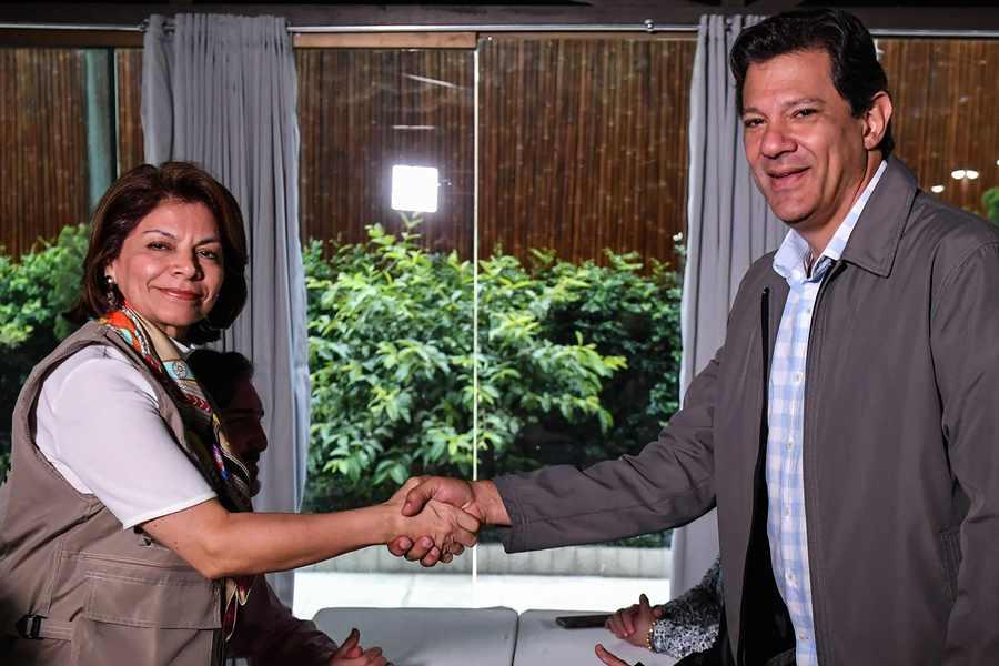 OEA «preocupada» por la ola de fake news en la campaña brasileña