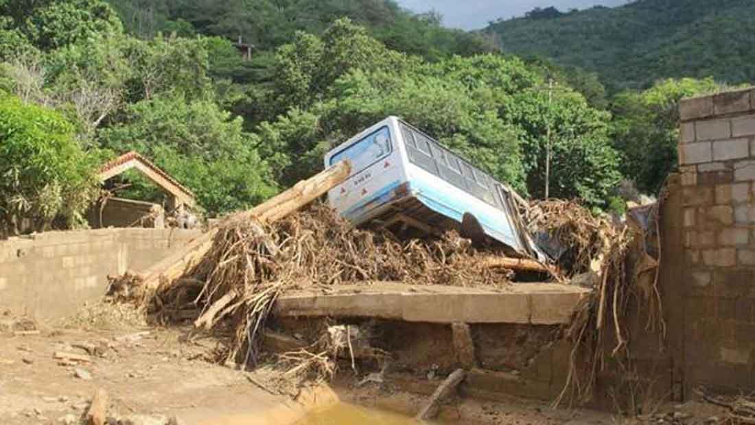 102 familias han sido afectadas por las precipitaciones en el estado Vargas