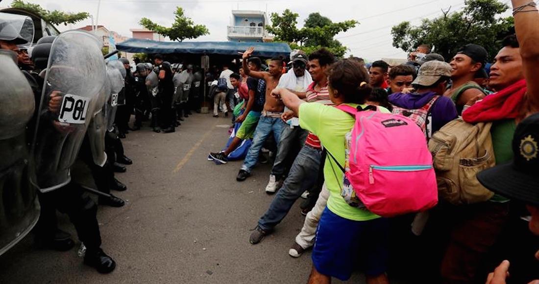 Responsabilizan a la Policía Federal mexicana por muerte de migrante hondureño