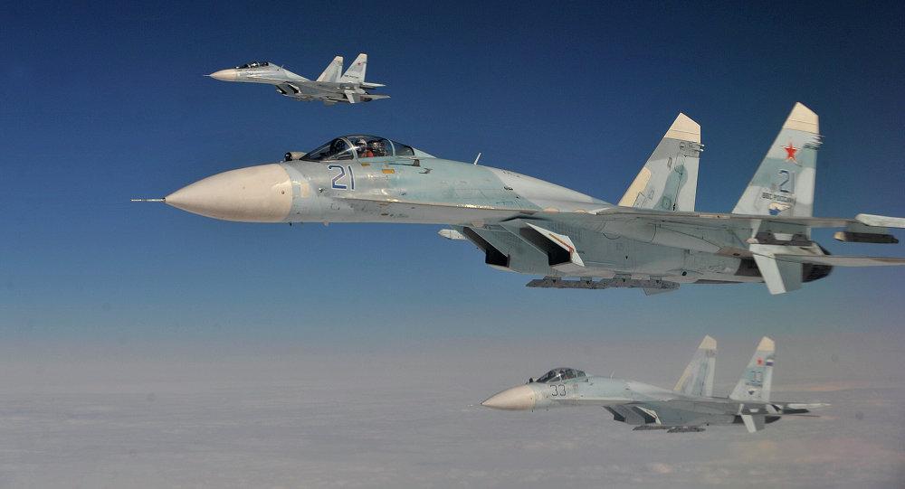 (Video) Así entrenan los pilotos rusos para repeler los ataques enemigos