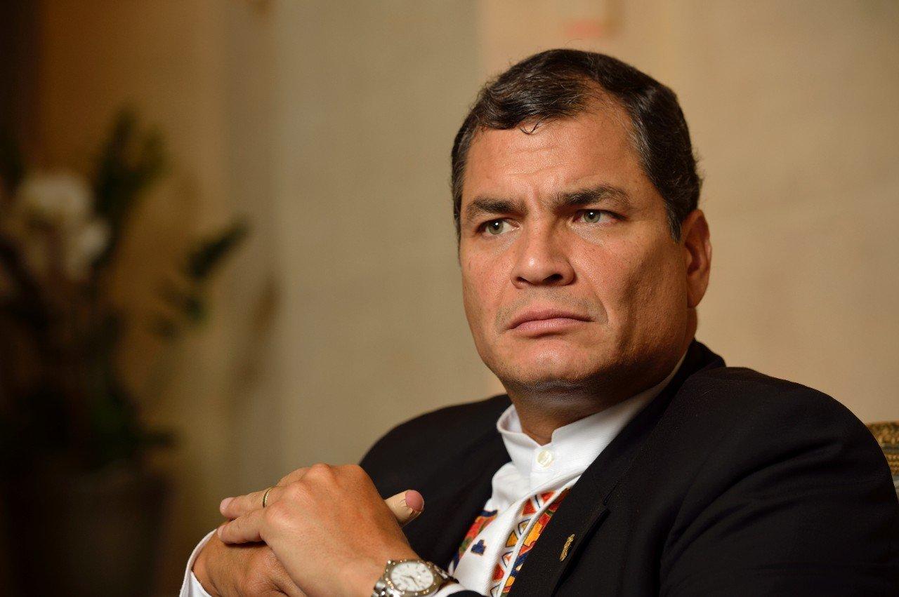 Rafael Correa asegura que no solicitará indulto por caso 'sobornos'