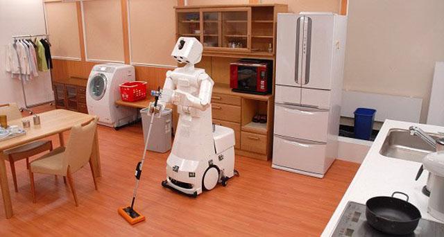 Crean robot que ordena la casa: levanta objetos del suelo y los acomoda en el hogar