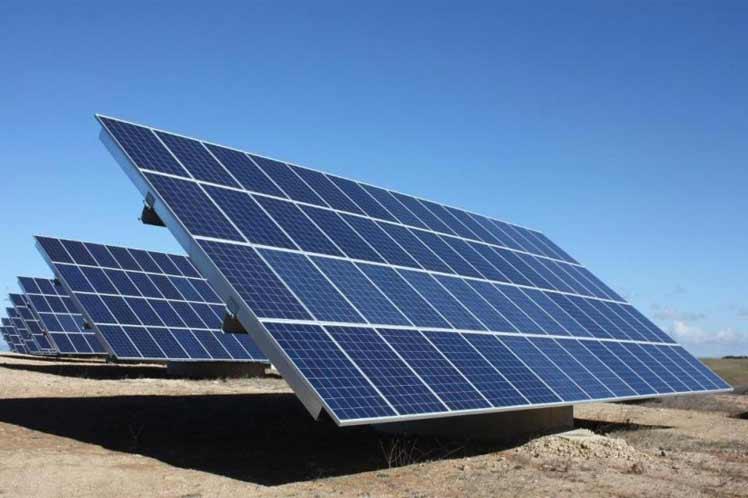 Construirán parque fotovoltaico en Zona de Desarrollo de Cuba