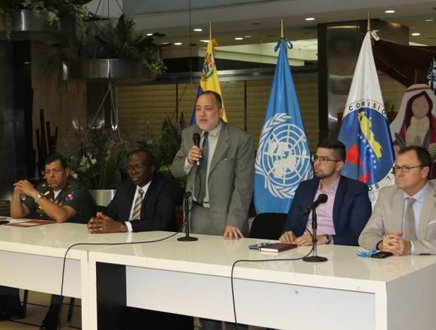 Extranjeros recibirán reconocimiento de refugiados en Venezuela