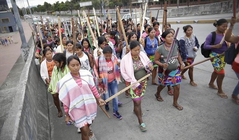 Procuraduría de Colombia critica indiferencia de Bogotá ante protesta indígena