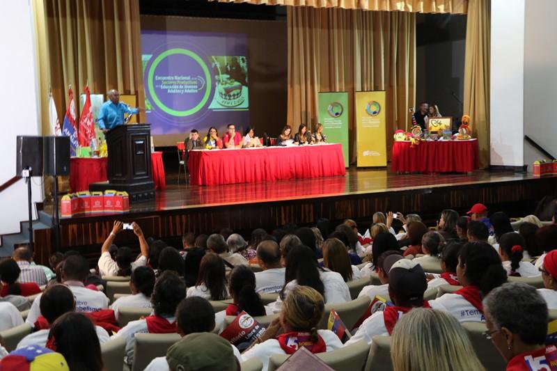 Encuentro Nacional de los Sectores Productivos de la Educación de Adultos y Adultas