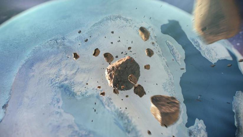 Descubren en Groenlandia un cráter que es más grande que París