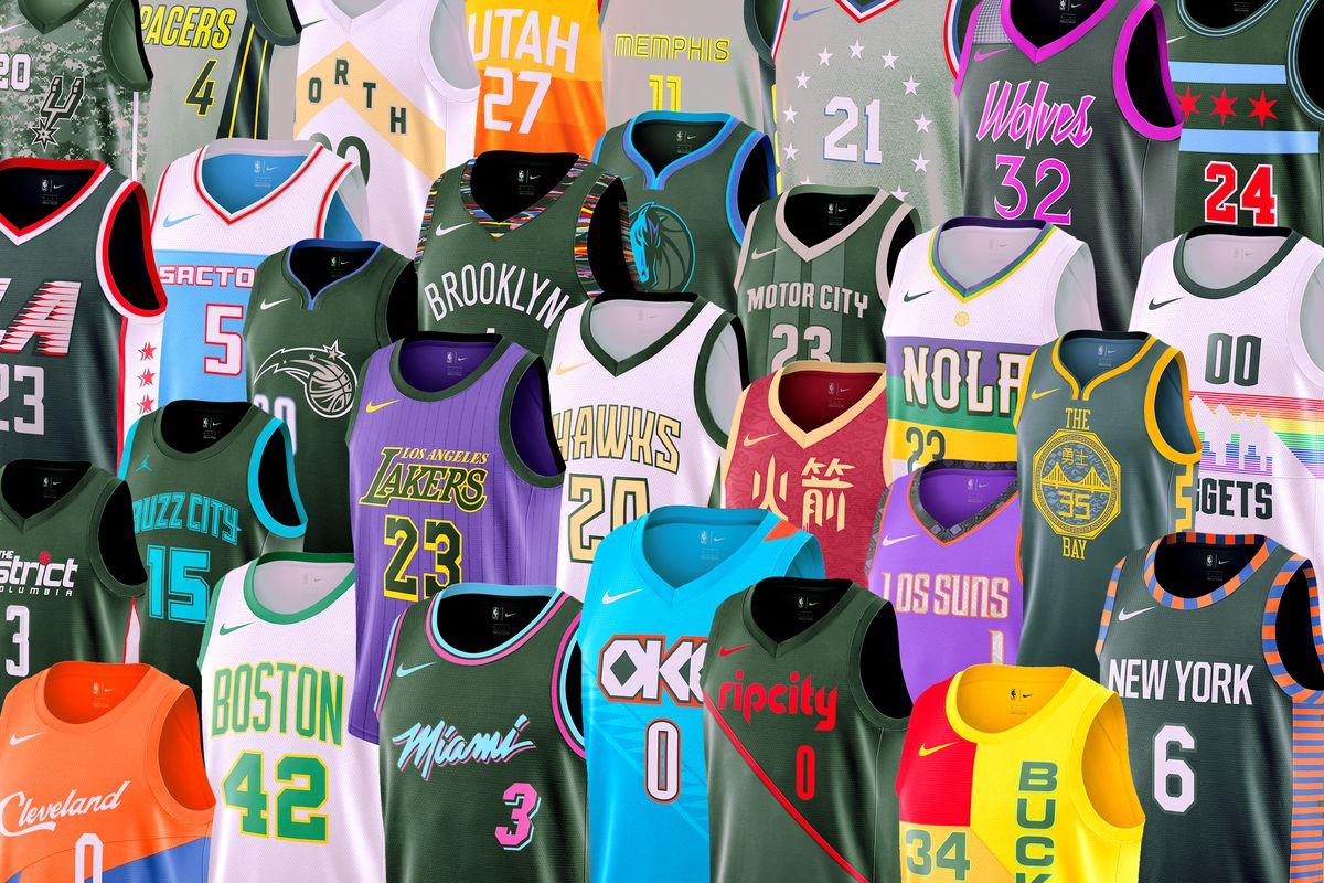 (Fotos) Nike y NBA presentaron los uniformes del City Edition 2018-2019