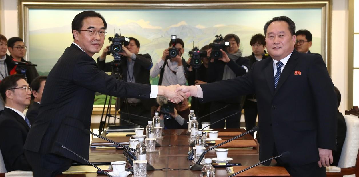 Las dos Coreas están desmantelando los puestos de guardia en la frontera