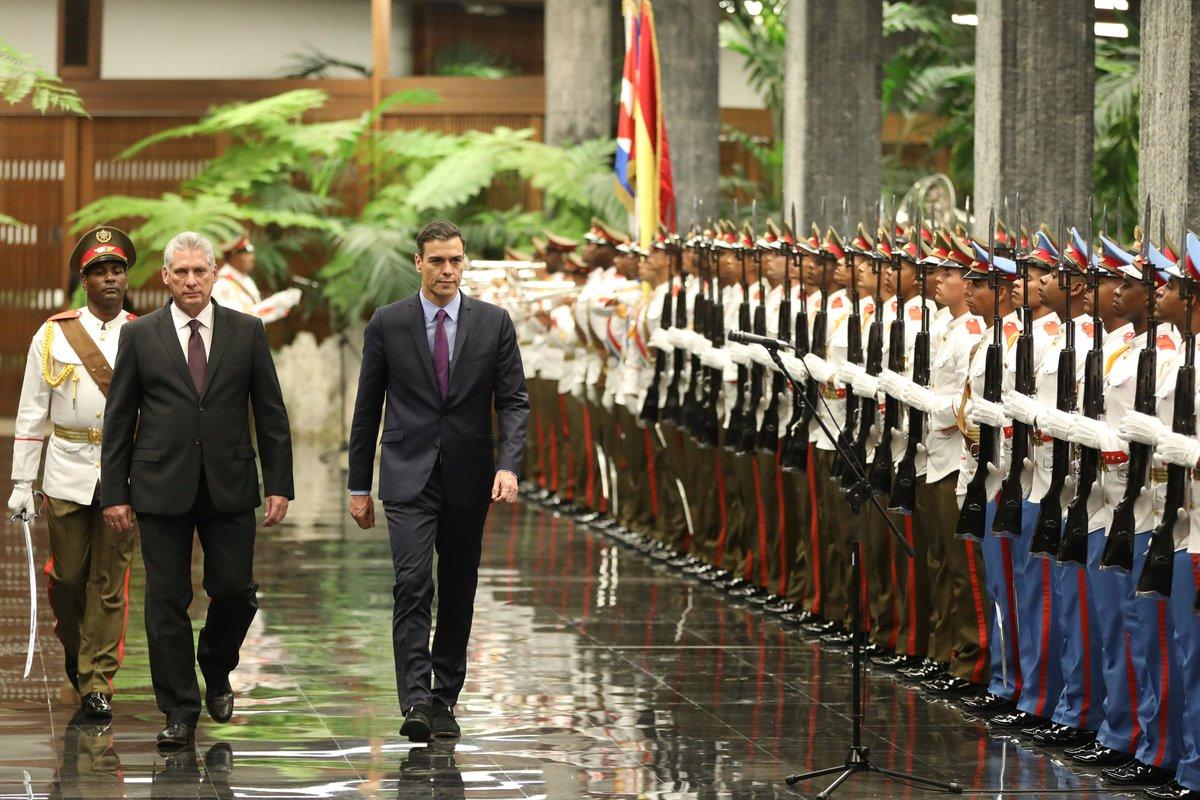 Luego de 32 años un presidente español visita a Cuba